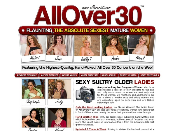 Allover30original Sign Up Form