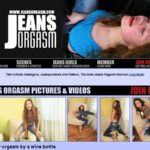 Free Jeans Orgasm Sign Up