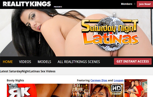 Get Free Saturday Night Latinas Membership