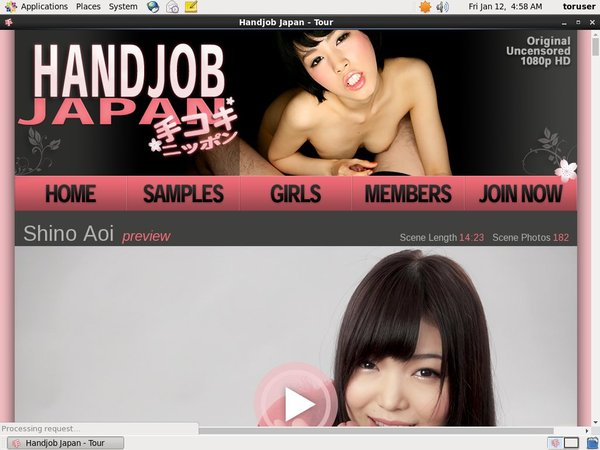 Handjobjapan.com Website Accounts
