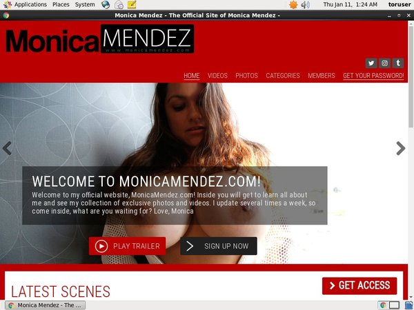 Monicamendez.com Trial Coupon