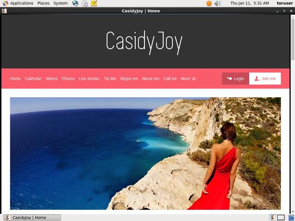 Casidyjoy.modelcentro.com Videos