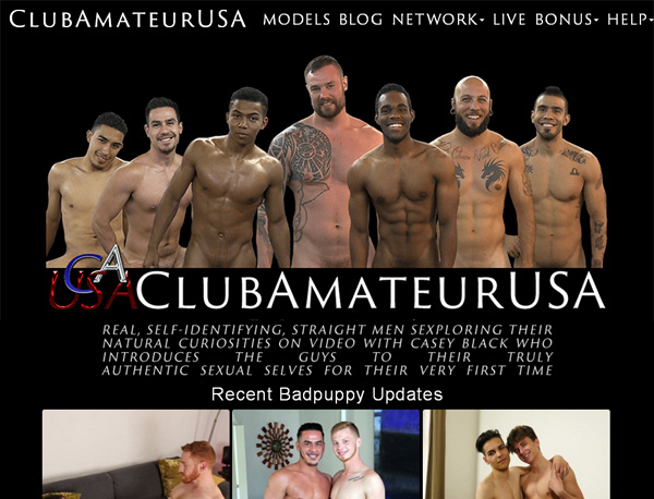Clubamateurusa.com Trial Membership Offer