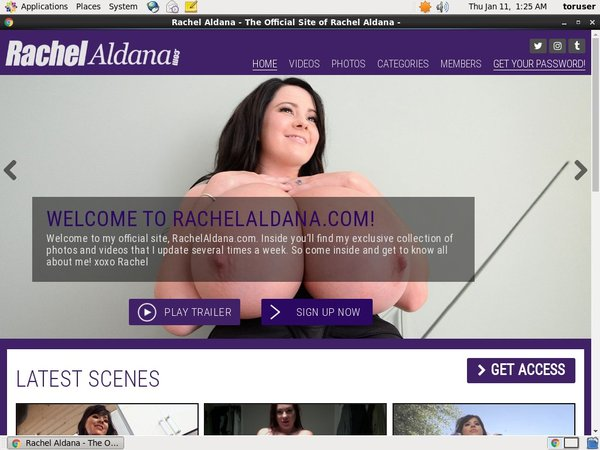 Free Rachel Aldana Trials