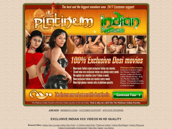 Logins For Platinum Indian
