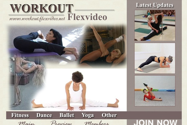 Workout.flexvideo.net New