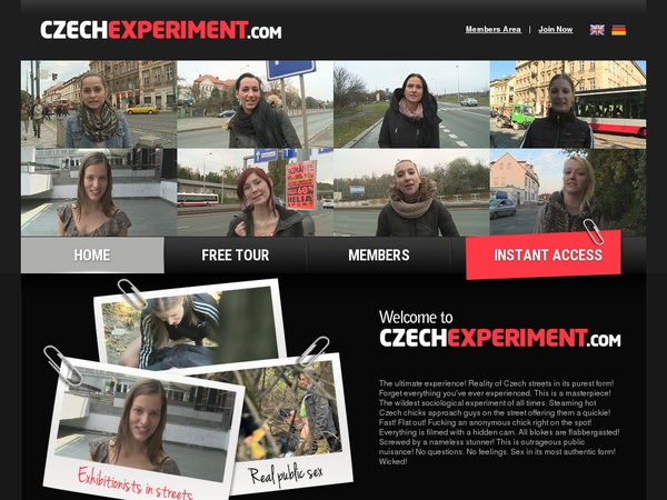 Free Czechexperiment Day Trial