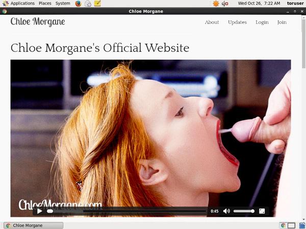 FreeChloe Morganeaccounts