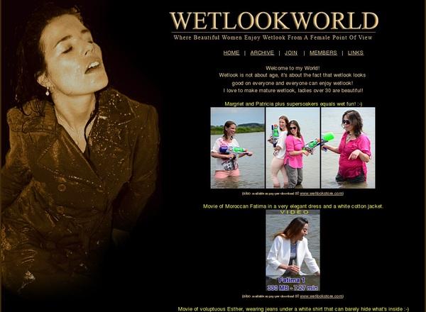 Acc For Wetlookworld