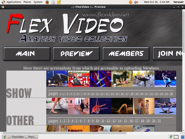 Flexvideo.net Dvd
