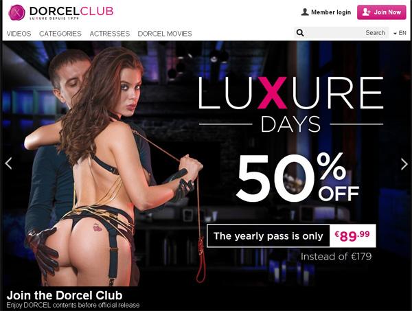 Dorcelclub.com Free Trials