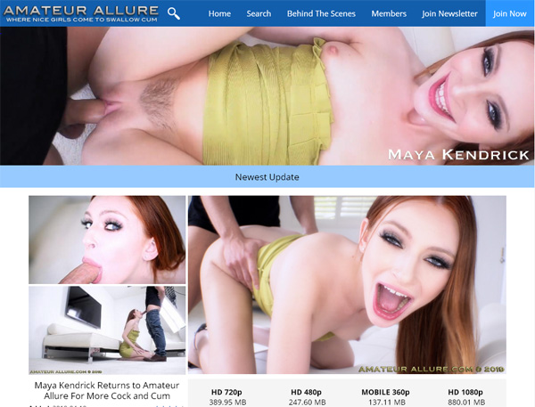 Free Passwords Amateurallure