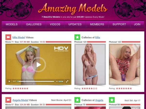 Amazing-models.com Login Password
