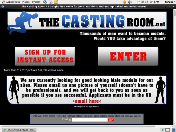 The Casting Room Promo Discount