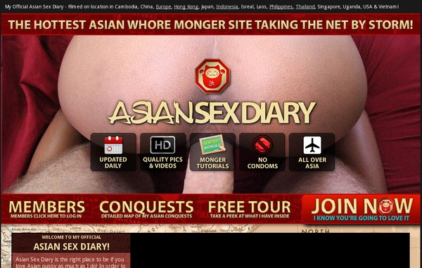 Asiansexdiary.com Discount Trials