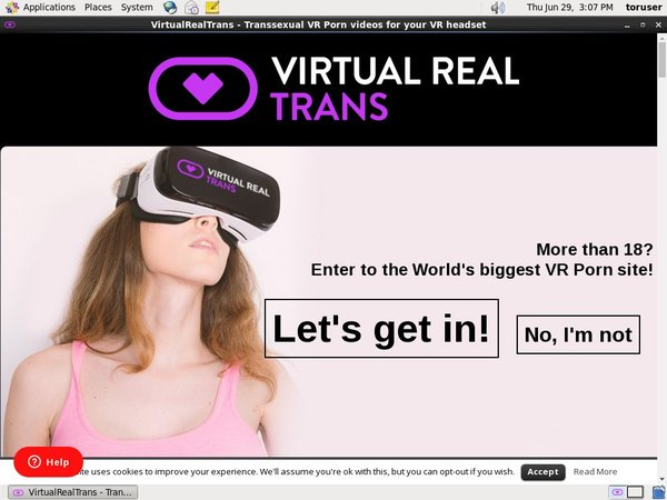 Virtual Real Trans Mobile Account
