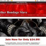 Leatherbondageslave.com Working Account