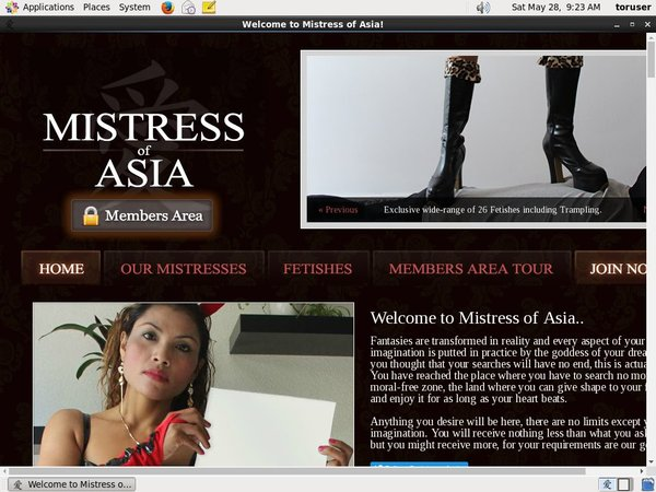 Mistress Of Asia Pay